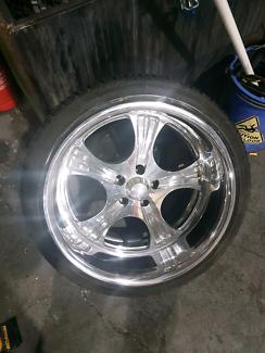 Billet show wheels
