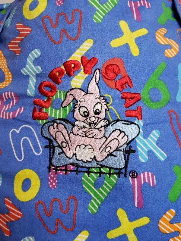 Floppy Seat Deluxe Shopping Cart/Highchair Cover Alphabet Blue
