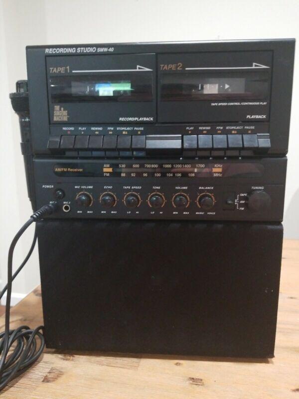 Memorex SMW-40 Portable Recording Studio Karaoke Music System #5161 P