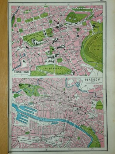 Antique Map and Information of 1920