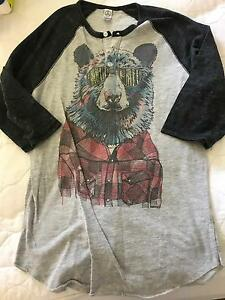 Canadian Bear 3/4 tshirt - Size S (AU 6-8) Glenvale Toowoomba City Preview