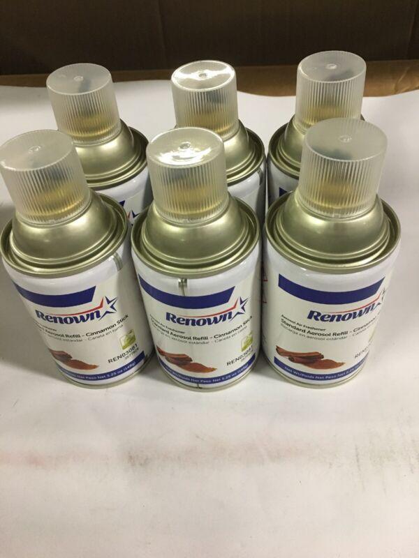 6 Pk Renown Aerosol Air Freshener Refill REN03081 Cinnamon Stick