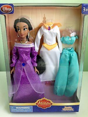 Disney Princess Jasmine Wardrobe Doll w/ 2 Extra Outfits..New in Mint - Jasmine Outfits Disney