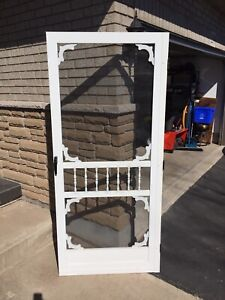"36"" Vinyl Screen door"