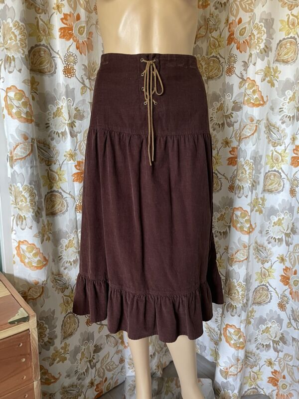 100% cotton corduroy skirt Size 11