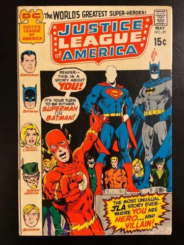 DC Justice League of America #89, 1971!