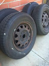 Near new R13 tyres to suit ford laser Fulham Gardens Charles Sturt Area Preview