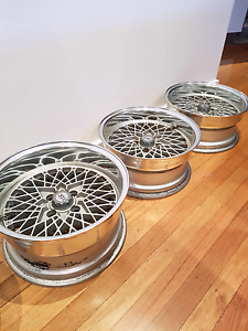 Ssr reverse mesh wheels Rowville Knox Area Preview