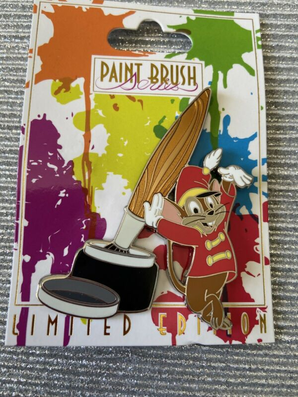 DSF Animation Celebration Timothy Mouse Paintbrush Pin Disney Dumbo DSSH New