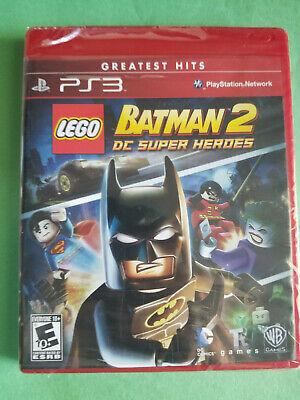 NEW - LEGO Batman 2: DC Super Heroes PS3 - Playstation 3 - Free Shipping!!