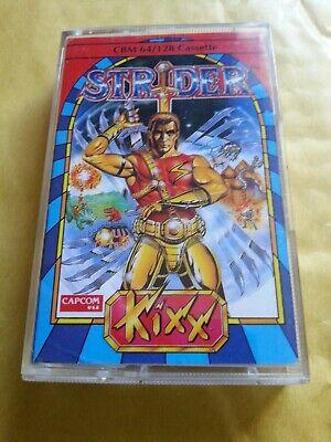 COMMODORE 64 GAME STRIDER KIXX  RARE  TESTED