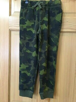 NWT Gymboree Boys Pull on Pants Green Camo Sweatpants Outlet
