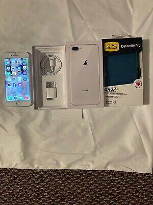 Apple iPhone 8 Plus - 256GB - Silver (Unlocked) A1897 (GSM)