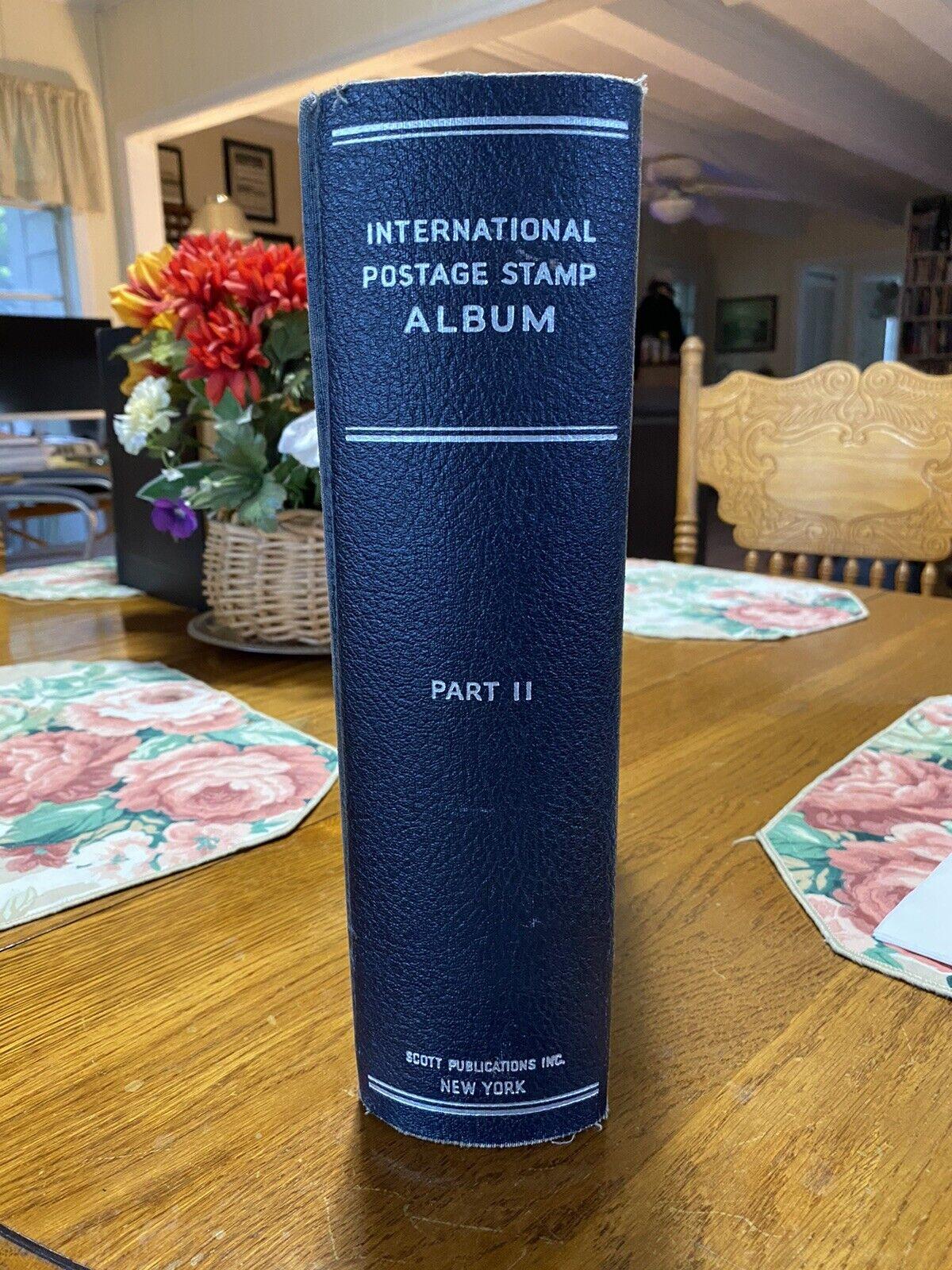 Scott s International Worldwide Stamp Album Part II - A-Z US - Pages Binder - $34.99