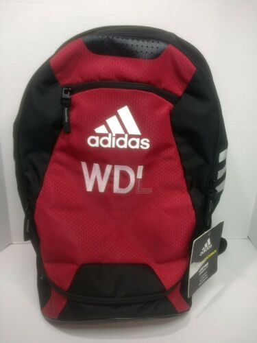ADIDAS STADIUM II Backpack - Power Red - Imperfect NWT