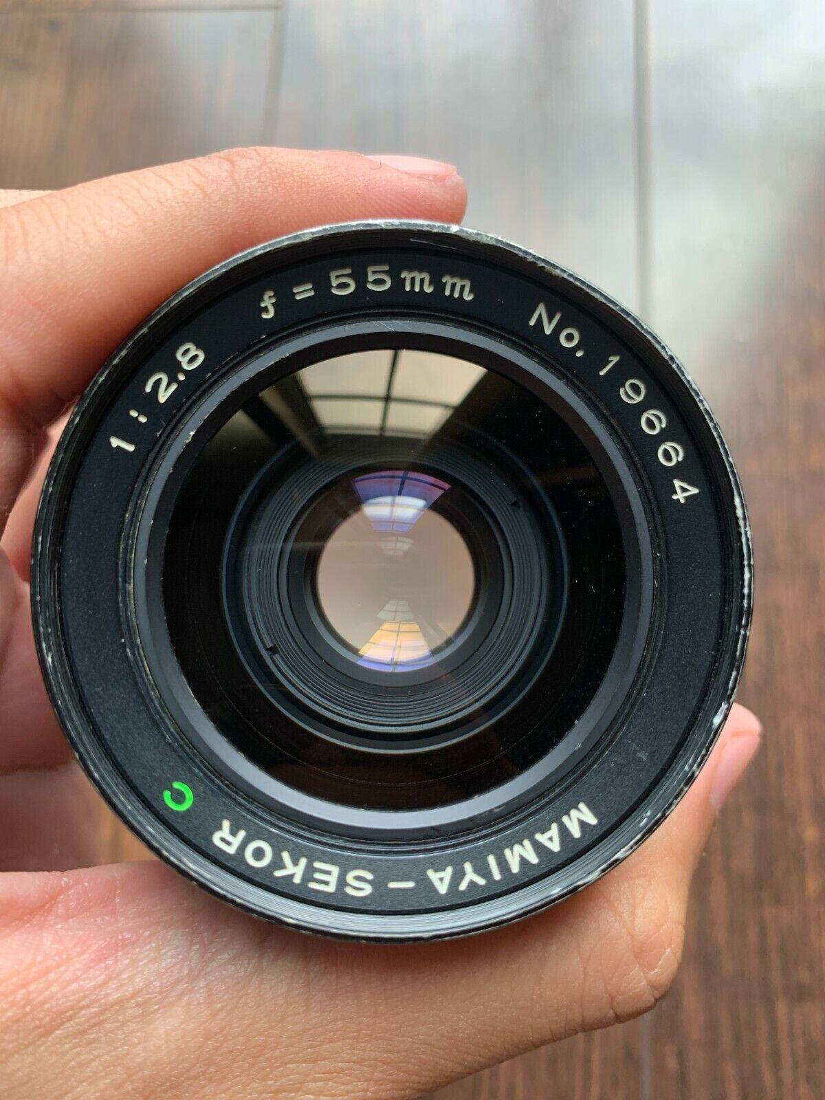 Mamiya Sekor C 55mm F/2.8 Lens For M645 Super 1000S Pro TL - $275.00