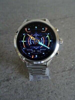 Michael Kors Runway MKT5044 Silver Version Stainless Steel Smart Watch - Boxed