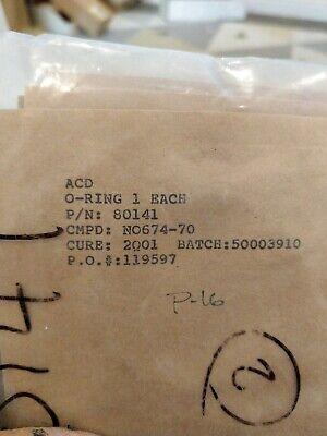 Acd O-ring 80141 Lot Of 8 O-rings. Box 2