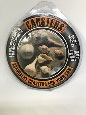 Thirstystone Carsters Car Coasters Beach -