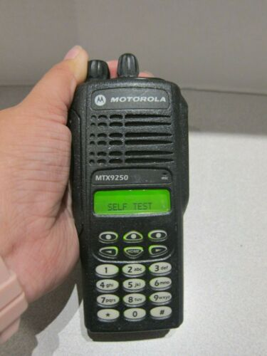 Motorola MTX9250  900MHz AAH25WCH4GB6AN POLICE FIRE EMS Two Way Radio