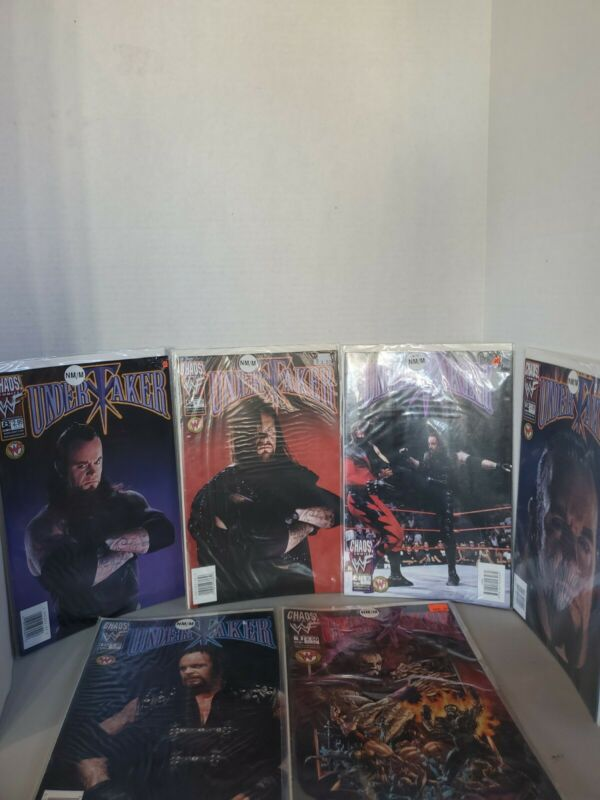 Lot Of 6 WWF Undertaker Comics