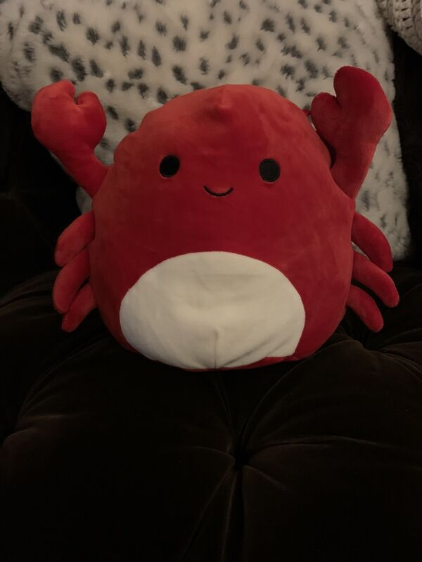NWT Kellytoy 8 inch Squishmallow Crab NEW RARE Limited Edition