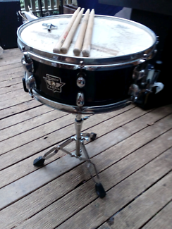 Premier Snare drum and stand