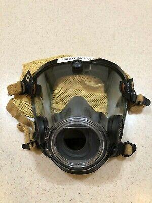 Scott Av-2000 Facepiece Firefighter Scba Mask Size Small - New
