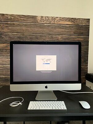 IMac 27 Inch, Retina 5k, late 2015, i5 Processor 3.2GHz Quad Core, 8GB RAM