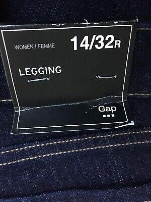 Gap Womens Dark Wash Jeans Size 18