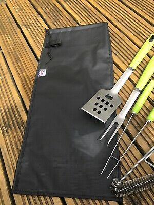 BBQ Utensil Storage Bag, Black, Barbecue Utensil Storage, BBQ Equipment Uk Made
