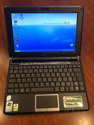"""NETBOOK USATO ASUS EEE PC 1000H INTEL ATOM N270 1GB 160GB 10"""" WIN 7 WEBCAM comprar usado  Enviando para Brazil"""