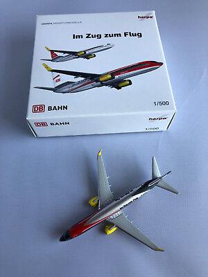 "Herpa Wings 518420  TUIfly  Deutsche Bahn ""Regio"" D-ATUC B737-800 *SELTEN*"