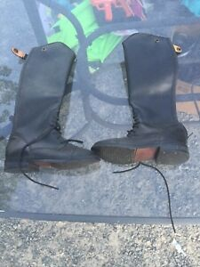 Girls riding boots size 2