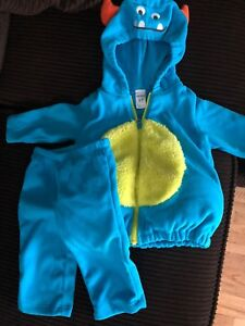 Monster costume size 6-9m
