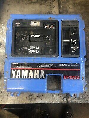 Yamaha Ef1000 Generator Control Panel