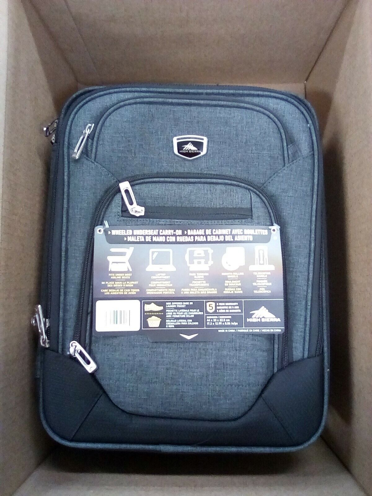 Endeavor Wheeled Underseat Carry On Laptop Bag Travelon Lugg