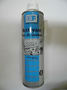 kf1019 nettoyant flux de soudure 400ml net 650ml brut. Black Bedroom Furniture Sets. Home Design Ideas