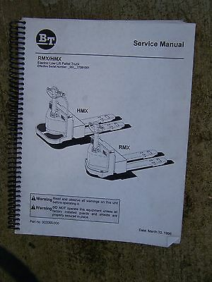 1998 Bt Rmx Hmx Electric Low Lift Pallet Truck Manual More Lift In Our Store V
