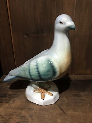 Pigeon Ceramic Campsie Ware  Made in Scotland - Lustre Ware Bird Figurine