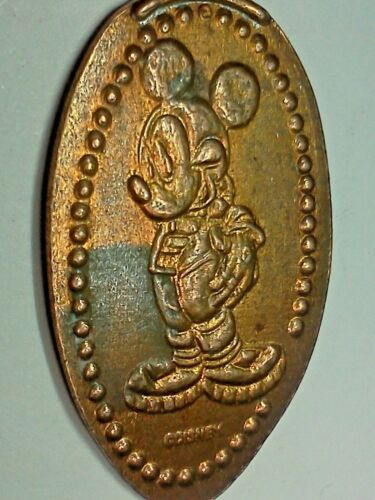 DISNEY WORLD MICKEY MOUSE-Elongated / Pressed Penny J-801