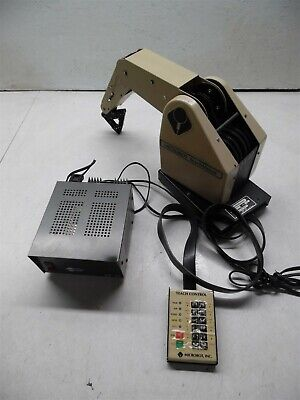 Microbot Teach Mover Robot Arm Tcm With Power Supply
