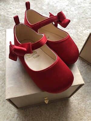 Christian Louboutin Rare Limited Baby Capsule 18 Loubi Baby Red