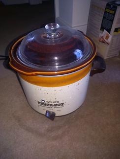 Monier crock pot lid glass