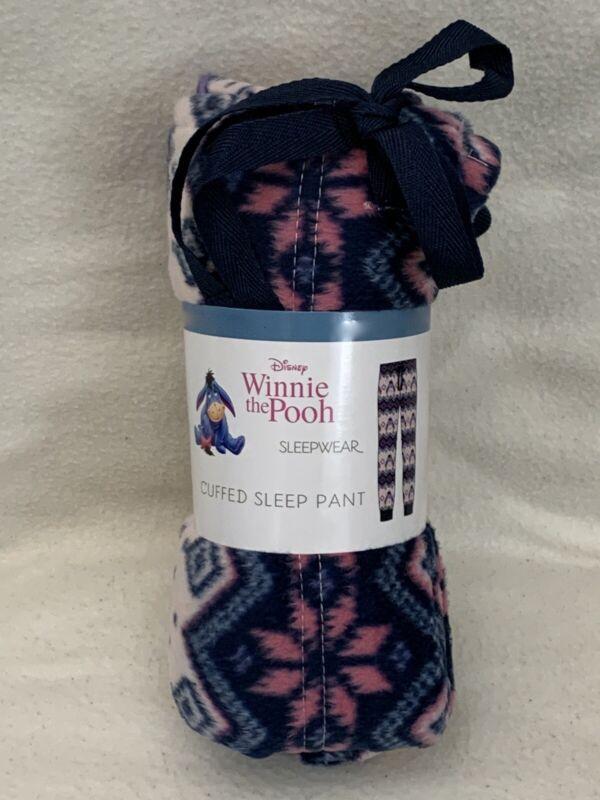 Eeyore in Love Winnie The Pooh Grey Jogger Sleep Pants