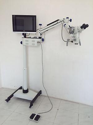 Ophthalmic Microscope 5 Stepfloor Type 0-180 Adjustable Binocular 110220v