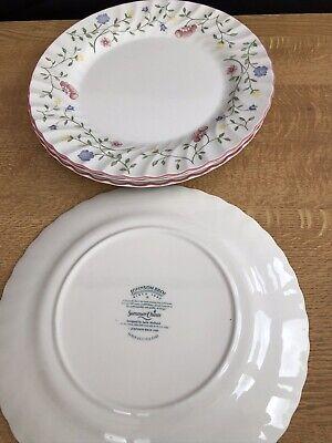 johnson brothers summer chintz 4 Dinner Plates