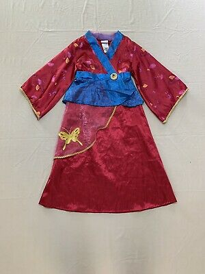 Mulan Halloween Costume (Disney Store Mulan Girls Dress/Halloween Costume-size Small)