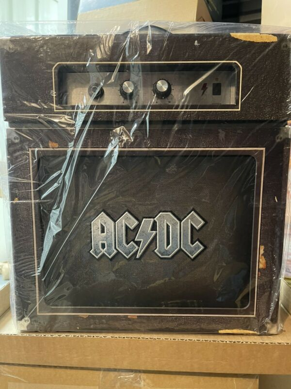 AC/DC Backtracks Boxed Set Collector's Edition CD + DVD With Amp Factory Sealed
