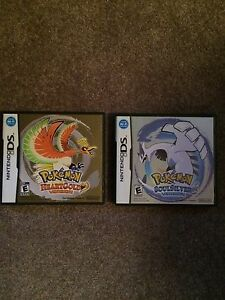 Pokemon HeartGold And Pokemon SoulSilver DS Games
